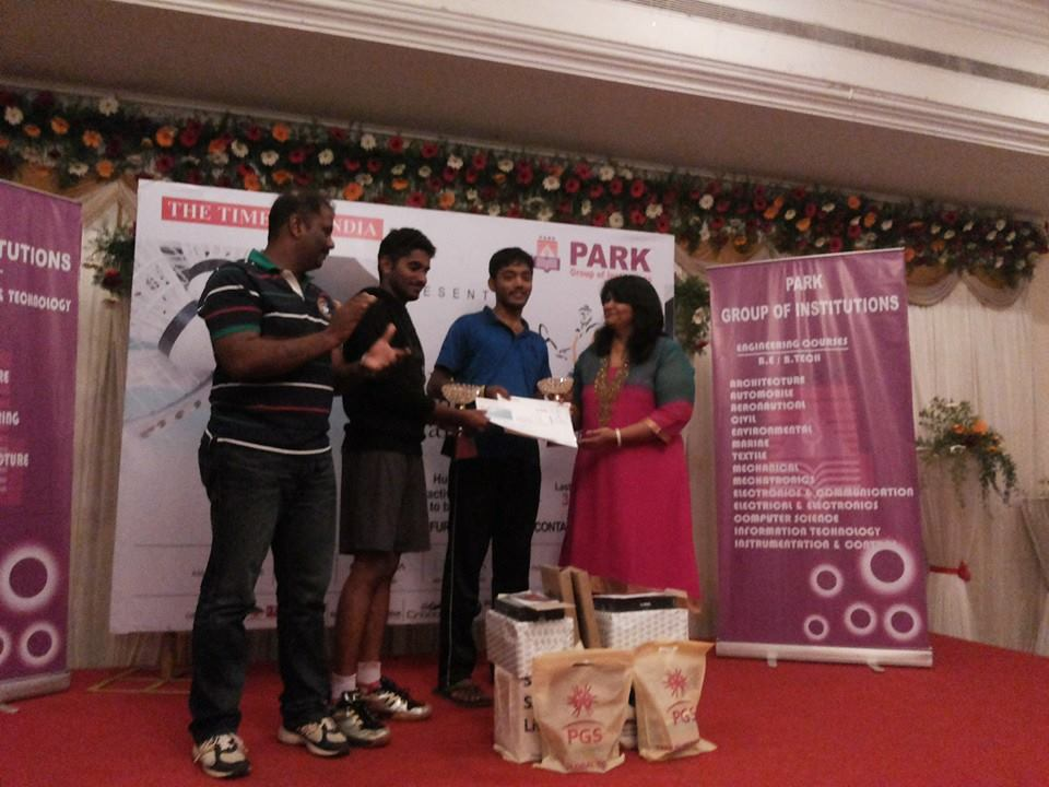 Corporate Badminton Winner-2014